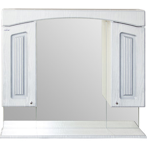 Зеркало-шкаф Mixline Крит 85 патина серебро (2405175331306) тур крит