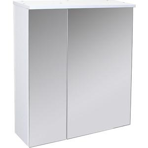 Зеркальный шкаф Mixline Милан 60 белый (2100905121744) шкаф навесной mixline радуга 46 одуванчик белый 2131105280412