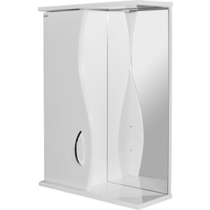 Зеркало-шкаф Mixline Муссон 50 левый (2231205283884) цена