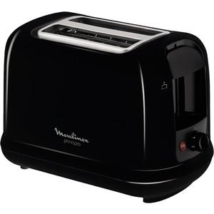 Тостер Moulinex LT160830 черный тостер moulinex tt110232
