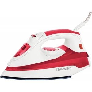Утюг StarWind SIR5824 красный/белый утюг starwind sir5824 2200вт красный белый