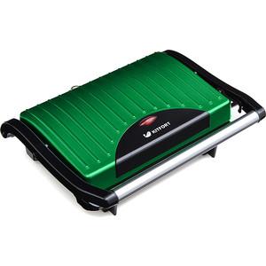 Сэндвичница KITFORT KT-1609-3 зеленый/черный