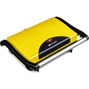 Сэндвичница KITFORT KT-1609-2 желтый/черный цена и фото