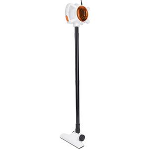 Вертикальный пылесос KITFORT KT-526-3 оранжевый/белый цена и фото