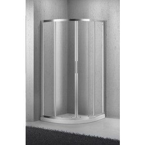 Душевой уголок BelBagno Sela R-2 90х90 прозрачный, хром (Sela-R-2-90-C-Cr)