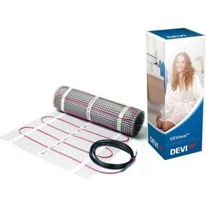 В плиточный клей (нагревательные маты) Devi Девимат DTIF-150 69/75 Вт, 220/230 В, 0.5х1 м (0.5 м2) кабель в стяжку нагревательные секции devi deviflex кабель 18т 820 вт 230 в 44 м