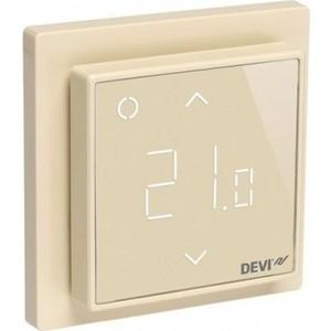 Терморегулятор Devi DEVIreg Smart интеллектуальный с Wi-Fi, бежевый, 16 А