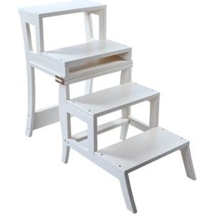 Стул-лестница Мебель Импэкс Leset Бруклин белый зеркало напольное мебель импэкс leset мэмфис белый