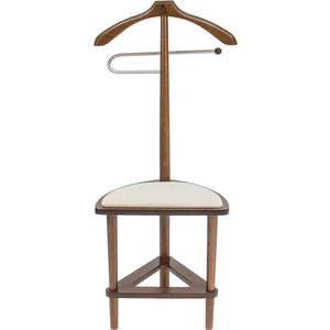 Вешалка со стулом Мебель Импэкс Leset Атланта орех вешалка напольная мебель импэкс leset чикаго орех