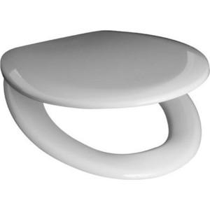 Сиденье для унитаза Jika Zeta с металлическими петлями, хром (8.9327.2.000.063)