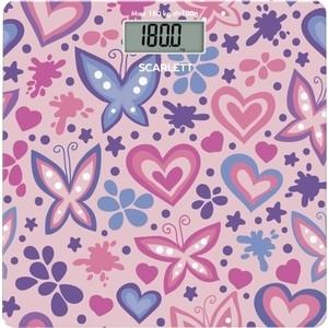 Весы напольные Scarlett SC-BS33E092 розовый/рисунок