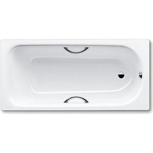 Стальная ванна Kaldewei Eurowa Star 312 170x70 см, с отверстиями для ручек (119821020001) стальная ванна 150x70 см kaldewei eurowa 310 1