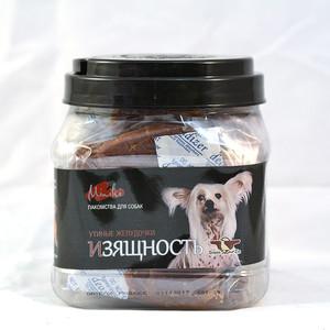 Лакомство GreenQZin Miniki Изящность утиные желудочки для собак мелких пород 525г (DkGz525Pc)