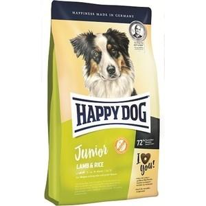 Сухой корм Happy Dog Junior Lamb & Rice ягненок с рисом для щенков 7-18 месяцев 10кг (60413)