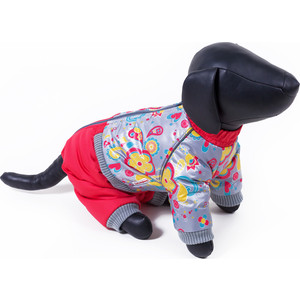 Комбинезон Зоофортуна теплый 35см для собак девочек (11288835) костюм для собак major тельняшка 35см