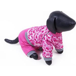 Комбинезон Зоофортуна теплый 35см для собак девочек (11528835) костюм для собак major тельняшка 35см