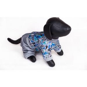 Комбинезон Зоофортуна теплый 35см для собак мальчиков (12347735) костюм для собак major тельняшка 35см