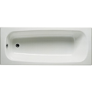 Чугунная ванна Roca Continental Antislip 160x70 с ножками
