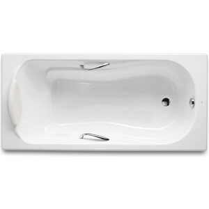 Чугунная ванна Roca Haiti 150x80 с ручками и ножками (2332G000R, 526804210, 150412330)