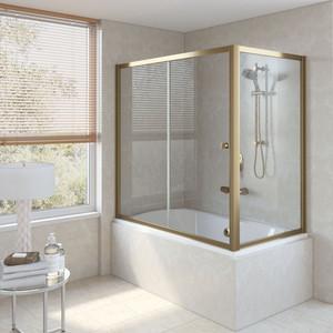 Шторка на ванну Vegas Glass ZV+ZVF 160*90 05 01 профиль бронза стекло прозрачное шторка на ванну vegas glass zv zvf 160 90 09 01 профиль золото стекло прозрачное