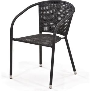Кресло из искусственного ротанга Afina garden Y137B dark brown
