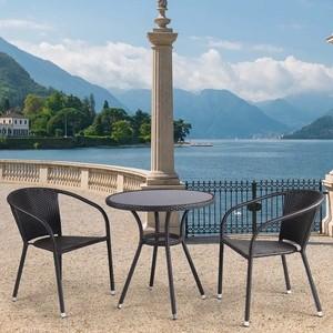 Комплект мебели из искуственного ротанга Afina garden T282ANS/Y137C-W53 brown (2+1)