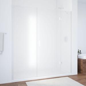Душевая дверь Vegas Glass AFP-F 160 сатин, белый, правая (AFP-F 160 01 10 R) цена