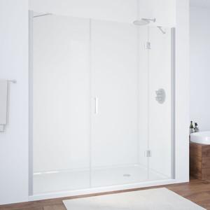 Душевая дверь Vegas Glass AFP-F 160 прозрачная, хром матовый, правая (AFP-F 160 07 01 R) цена
