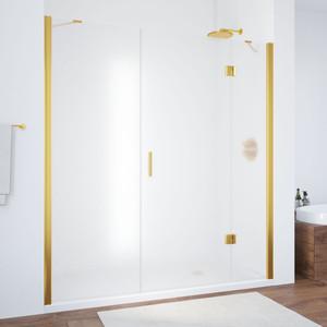 Душевая дверь Vegas Glass AFP-F 160 сатин, золото, правая (AFP-F 160 09 10 R) цена