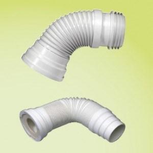 Гофра для унитаза Wirquin Jollyflex D110, внутр.поверхность гладкая, 190-305 мм (71080202)