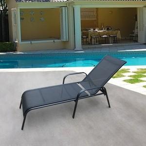 цены Шезлонг-лежак Afina garden Бирма-1 MC-2051A black