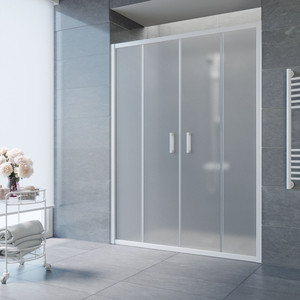Душевая дверь Vegas Glass Z2P 150 сатин, белый (Z2P 150 01 10) цена