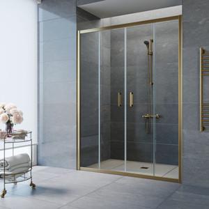 Душевая дверь Vegas Glass Z2P 150 прозрачная, бронза (Z2P 150 05 01) цена
