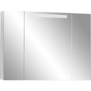 Зеркальный шкаф Акватон Мадрид 100 со светильником (1A111602MA010) авиабилеты мадрид москва