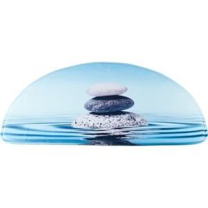 Коврик для ванной Swensa 50х80 см Stones, Memory foam, полиэстер (SWM-6030-STONES) коврик для ванной brissen 50х80 см cruise memory foam полиэстер swm 6005