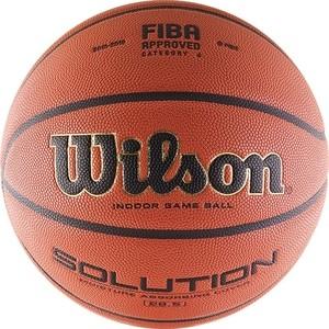 Мяч баскетбольный Wilson Solution (B0686X) р.6 FIBA Approved все цены