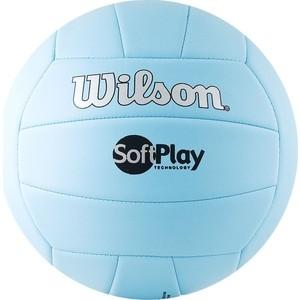 Мяч волейбольный Wilson Soft Play (WTH3501XBLU) р.5