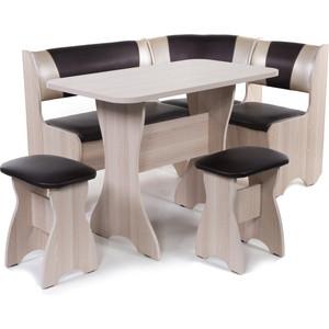 Набор мебели для кухни Бител Тюльпан - комби (ясень С-221 + С-101 ясень) цена и фото