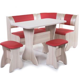 Набор мебели для кухни Бител Тюльпан - комби (ясень терра эффект-112 + С-101 ясень) цена и фото