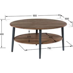 Стол журнальный Калифорния мебель Эль СЖ-01 грецкий орех стол журнальный калифорния мебель эллипс сж 01 орех