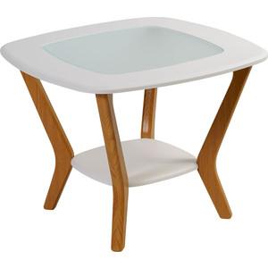 Стол журнальный Калифорния мебель Мельбурн белый