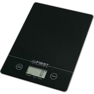 Весы кухонные FIRST FA-6400-2-BA first fa 6400 2 wi white кухонные весы
