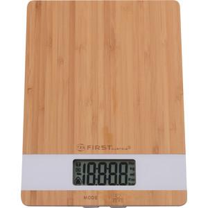 Весы кухонные FIRST FA-6410 White first fa 6400 2 wi white кухонные весы