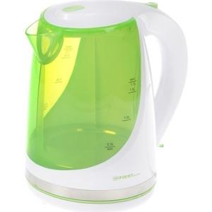 Чайник электрический FIRST FA-5427-8-GN чайник first fa 5427 7 white green