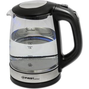 Чайник электрический FIRST FA-5406-6 Black цена и фото