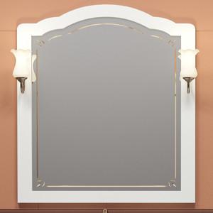 Зеркало Opadiris Лоренцо 100 для светильников 00000001041, Z0000001408, белый матовый 9003 (Z0000008465)