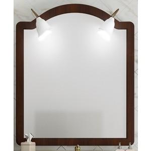 Зеркало Opadiris Виктория 90 для светильников Z0000002331, светлый орех Р10 с патиной (Z0000001175)