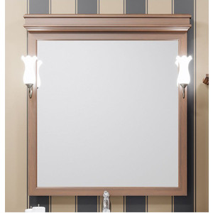 Зеркало Opadiris Борджи 85 для светильников 00000001041, светлый орех Р10 (Z0000012701)