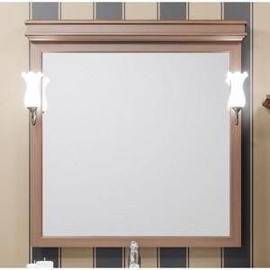 Зеркало Opadiris Борджи 95 для светильников 00000001041, светлый орех Р10 (Z0000012702)
