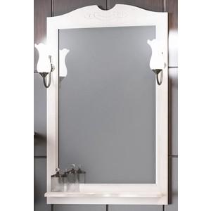 Зеркало в деревянной раме Opadiris Клио 65 белый с оттенком, для светильников 00000001041, Z0000001408 (Z0000004117) зеркало в деревянной раме opadiris риспекто 105 слоновая кость для светильников 00000001041 z0000001408 z0000006704